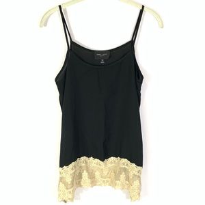 Romeo + Juliet Couture black top with lace